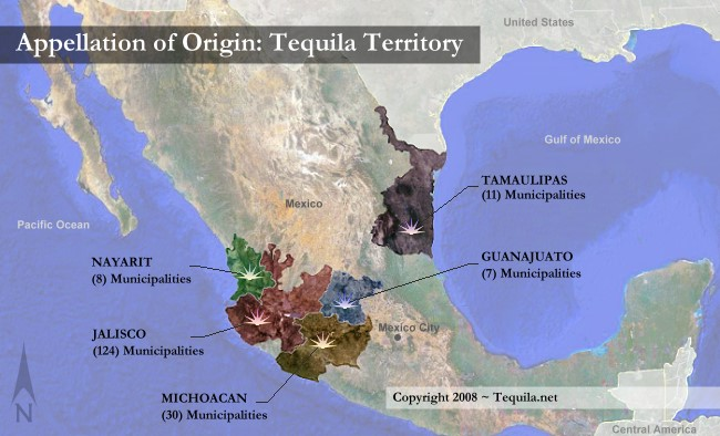 Appellation of Origin Tequila