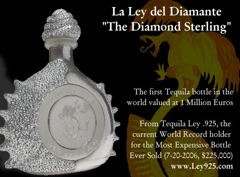 Tequila La Ley del Diamante - The Diamond Sterling