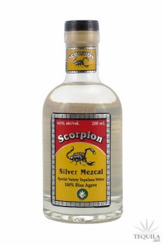 Scorpion Mezcal Tequilana Weber Silver