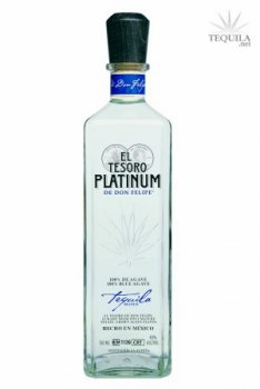 El Tesoro de Don Felipe Tequila Platinum