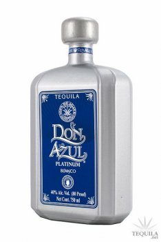 Tequila Don Azul Platinum Blanco