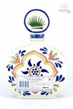 Los Azulejos Tequila Anejo Talavera
