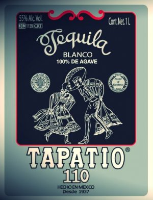 Tapatio Tequila 110 Proof Blanco
