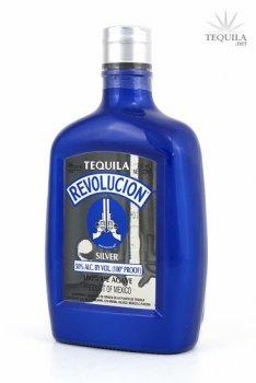 Tequila Revolucion 100 Proof Silver